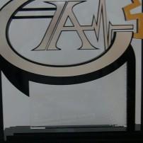 لوح یادبود شرکت در دومین کنگره اتوماسیون صنعت برق